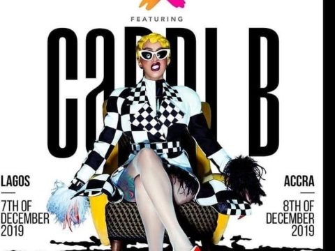 American Rapper, Cardi B Set To Storm Lagos In December